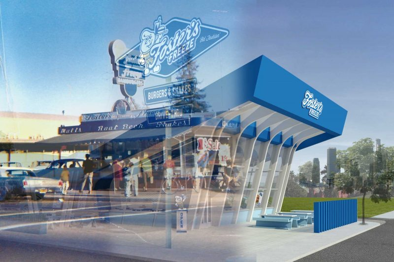 Fosters Freeze fast food franchise