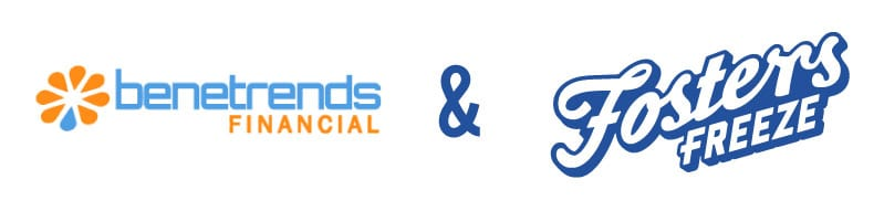 Benetrends and Fosters Freeze shakes franchise logo