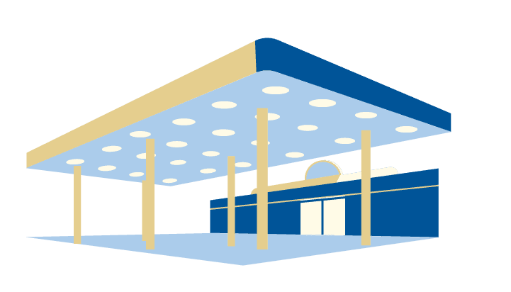 fosters freeze milkshake franchise graphic of restaurant outside